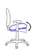 Регулировка наклона сиденья