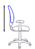 Регулировка спинки по высоте