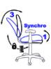 Асинхронная настройка спинки и сиденья