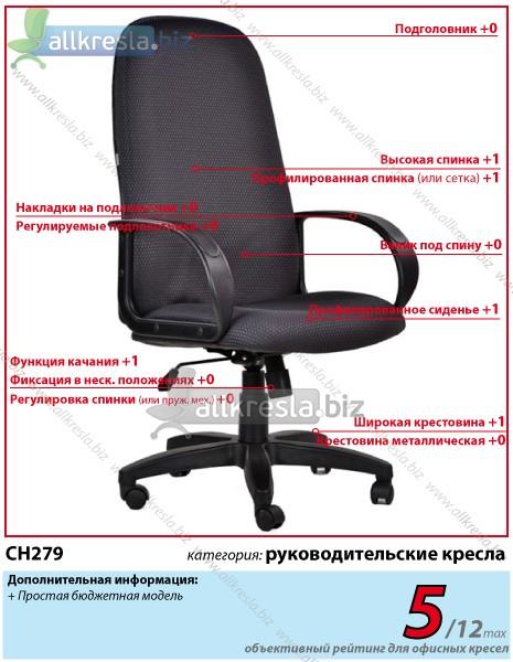 кресло руководителя бюджет ch 279