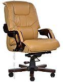 Кресло руководителя с обивкой экокожи